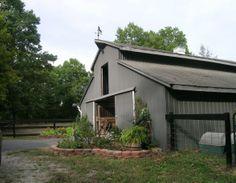 exterior colors barn    exterior, gray roof gray barn