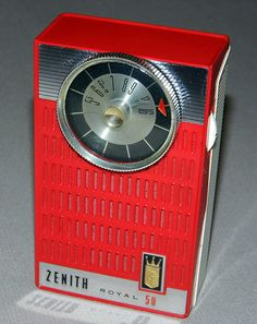 Vintage Zenith Royal 50 Transistor Radio