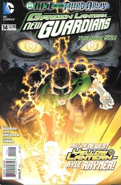 Green Lantern: New Guardians # 14 DC Comics The New 52!