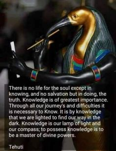 Makes me think. Christianity, it was a sin that they bit the fruit and received knowledge and awareness. Christianity is backwards and is trying to damn and undo all of the right traditions that will actually save us. Spiritual Enlightenment, Spiritual Wisdom, Spiritual Growth, Spiritual Awakening, Spiritual Awareness, Emerald Tablets Of Thoth, Black History Facts, Knowledge And Wisdom, Ancient Egypt