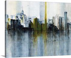 Shimmering Cityscape