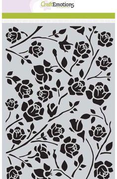 Mask Craft Emotions Botanical roses (Tanja)