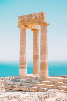 Best Things To Do In Rhodes, Greece Beste Attraktionen in Rhodos, Griechenland Travel Bucket List Greek Islands To Visit, Best Greek Islands, Greece Islands, The Places Youll Go, Places To See, Greece Places To Visit, Beautiful Islands, Beautiful Places, Places To Travel
