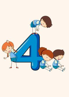 Numbers Preschool, Learning Numbers, Math Numbers, Preschool Learning, Teaching Math, Excel Tips, Kids Math Worksheets, School Labels, School Clipart
