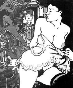 Adèle Blancsec se dévoile. Image parue dans Playboy en 1987