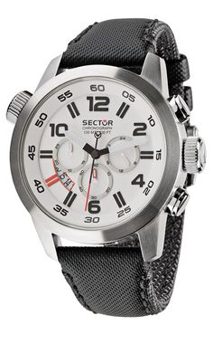 Sector Men's R3271702045 Urban Oversize Analog Stainless Steel Watch