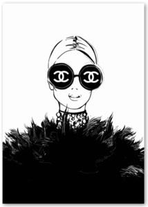Chanel Poster, Chanel Print, Chanel Wallpapers, Mode Poster, Illustration Mode, Megan Hess Illustration, Mode Editorials, Photo Deco, Wall Art Prints