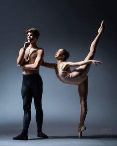 Photo Credit: Arhscana Images Pas De Deux: Contemplations Dancers: @mirabeatrice @piercebryant Studio: Academy of Balletarts_