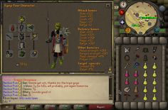 Close to perfect gear/inv setup for Maxed players doing Raids for less than 400M (excl. supplies: potions/foods) | Credit: Zulu
