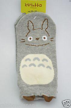 My Neighbor Totoro fukusuke Socks 1pair 23 -25 cm Studio Ghibli Women's JAPAN 07