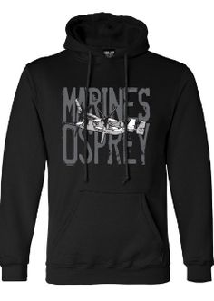 Marines Osprey Hooded Sweatshirt #emarine #emarinepx #marine #marines #marinecorps Sweatshirts Online, Hooded Sweatshirts, Hoodies, Usmc, Marines, Marine Corps, Pullover, Sweaters, Cotton