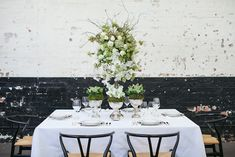Modern Wedding Flower Inspiration
