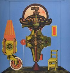 Eduardo Paolozzi, Metallization of a Dream, 1963 - The Independent #PopArt
