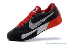 tenis barato de marca Masculino Nike KD Trey 5 II Preto / Vermelho / Branco 575266