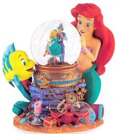Disney Snow globes Collectors Guide: Little Mermaid