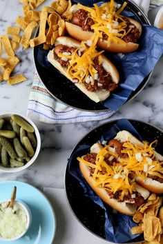 Chili Cheese Dogs - Food Recipes :)