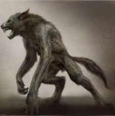 Art by Aaron Sims. Love this idea of a werewolf! Still looking for art for our t-shirts! Looking for werewolves, vampires, undead and fairies for now. Weird Creatures, Fantasy Creatures, Mythical Creatures, Werewolf Costume, Werewolf Art, Character Art, Character Design, Wolf Artwork, Beast Creature