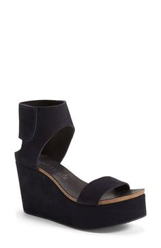 Pedro+Garcia+'Darla'+Ankle+Cuff+Wedge+Sandal+(Women)+available+at+#Nordstrom