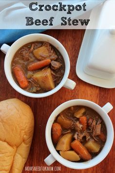 Slow Cooker Beef Stew Recipes | Crockpot Beef Stew