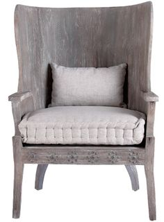 Into the Woods: Bliss Studio weathered wood armchair