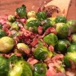 Bacon & Red Onion Brussels Sprouts - Ultimate Paleo Guide
