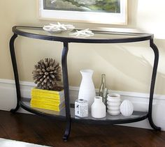 Louisa Console Table #potterybarn needing something compact for our entryway...