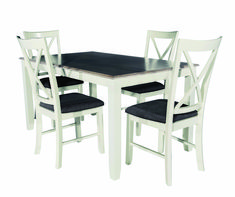 Cute dining room sets kijiji edmonton one and only homestre.com Cheap Dining Room Sets, Diy Dining Room Table, Table And Chairs, Dining Chairs, Farmhouse Table Plans, Circular Table, Pottery Barn Inspired, Rustic Table, Round Dining