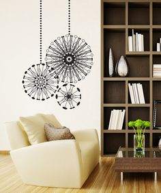 Vinyl Wall Decal Sticker Radial Ornaments OSDC668s by Stickerbrand, $39.95