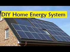DIY Home Energy System - Easy Way To Energy Independence and Lower Power Bills - YouTube
