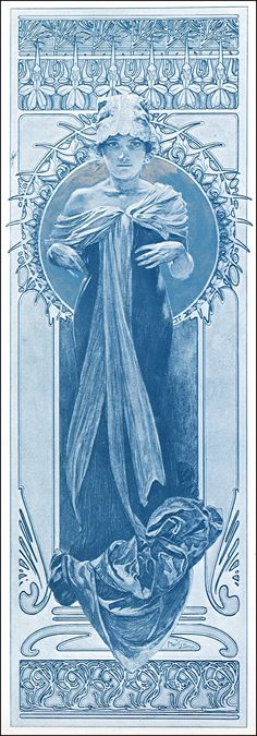 Alphonse Mucha   Documents Decoratifs - 1901.