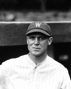 HoF George Sisler in a Senators uniform for the 1928 season.