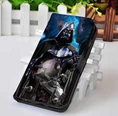 Star Wars Darth Vader | Movie | Custom wallet case for iphone 4,4s,5,5s,5c,6,7 and samsung galaxy s3,s4,s5,s6 - LSNCONECALL.COM