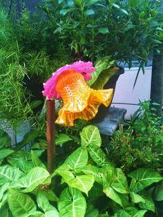 Glass Garden Flower....