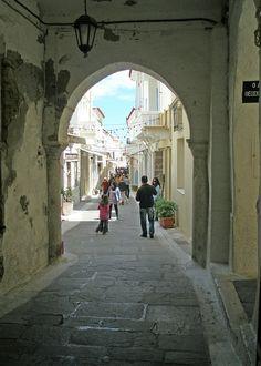 Chora of Andros, Cyclades, Greece Andros Greece, Santorini Greece, Street Image, Street View, Greek Isles, Beautiful Streets, Greece Islands, Greeks, Beautiful Islands