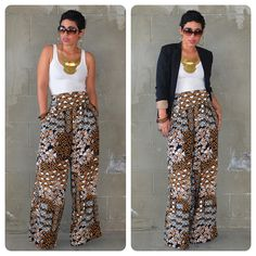 mimi g. I really have to learn how to use my sewing machine! I love LOVE these pants!