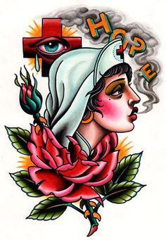 58 Trendy Tattoo Traditional Flash Old School Sailor Jerry Dog Tattoos, Cat Tattoo, Animal Tattoos, Girl Tattoos, Wrist Tattoos, Tattoo Art, Tattoo Drawings, Traditional Flash, Traditional Tattoo