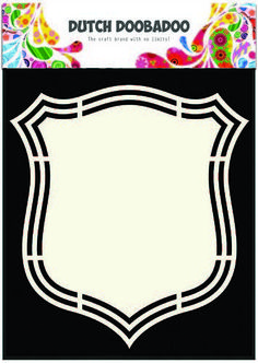 Dutch Shape Art frames schild 2 A5 185071/3140