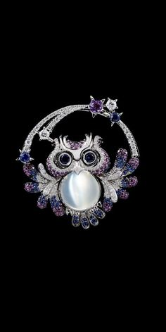 #Owl #Brooch #Pins #Jewellery