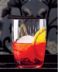 """Negroni - Like most dudes called """"Count"""" in turn-of-the-century Florence, Count Camillo Negroni could party. So they say. And his liver, salty as a soldier, wasn't much moved by comparatively candy-ass aperitifs like the then-popular Americano. So he asked his bartender to substitute gin for the soda. And the Negroni - granddaddy of all pre-dinner cocktails was born. So they say. No one really knows, because they were all drunk on Negronis back then.  #drinks #cocktails #classics #spirits"""