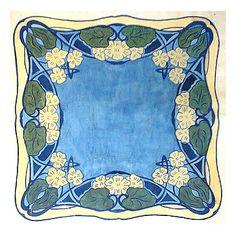 Art Nouveau background ❤ liked on Polyvore