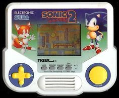 Tiger handheld video games. We played these on the bus every single day.