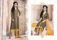 Brown-Colour Designer Indian Bollywood Wedding Pakistani Salwar Kameez N-1038 B