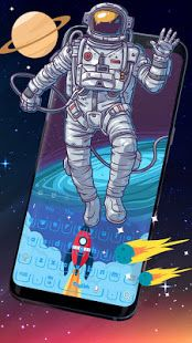 Astronaut keyboard theme for android will take you to the Outer Space world. Do you love cosmic space? Astronaut keyboard theme 2018 will design a fascinating world with a astronaut suit and a rocket. Themes Themes, Cool Themes, Best Android, Free Android, Astronaut Suit, Android Theme, Astronauts In Space, Design Crafts, Cosmic