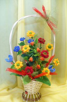 Flores de crochê.  Seleção de inspiração (31) (464x700, 230Kb)