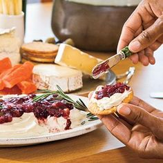 Texas Cranberry Chutney | A sweet-tangy accompaniment to a variety of grilled meats, Texas Cranberry Chutney also makes a mouthwatering appetizer when served over cream cheese or warm Brie. Be sure to send a jar home with your guests. | SouthernLiving.com