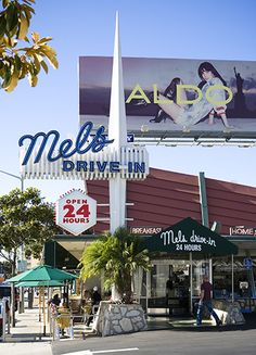 Mels Drive in on Sunset Strip