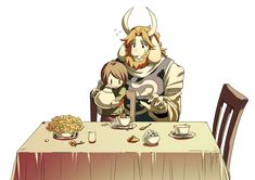 chara and asriel Muffet Undertale, Asgore Undertale, Undertale Fanart, Chara, Underfell Comic, Underswap Papyrus, Flowey The Flower, Horror Tale, Special Text