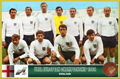 Fan pictures - European Football Championship 1968 England Team