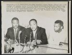 "John Lewis with Ralph Abernathy, and Martin Luther King, Jr. at a press conference during freedom rides. Publication may be restricted. see ""New York World-Telegram. Larger images display only at the Library of Congress Freedom Riders, King Jr, Library Of Congress, My Heritage, Martin Luther King, Civil Rights, Black History, John Lewis, Conference"