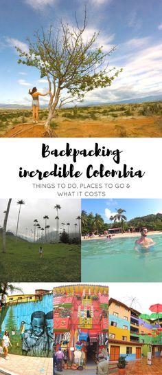 Unsere besten Tipps und Routen für deine Backpacking Rundreise durch Kolumbien. Mit Infos zu Unterkünften, Kosten, Essen, Sehenswürdigkeiten und den unglaublichsten Orten. #urlaub #reisebericht #reisen #kolumbien #backpacking